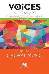 Hal Leonard Voices in Concert, Level 2 Treble Piano Accompaniment Book