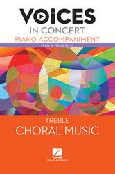 Hal Leonard Voices in Concert, Level 4 Treble Piano Accompaniment Book