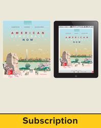 Harrison, American Democracy Now © 2017, 5e (AP Edition) Student Bundle 1 year subscription