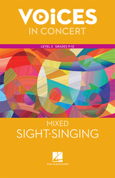 Hal Leonard Voices in Concert, Level 3 Mixed Sight-Singing Book