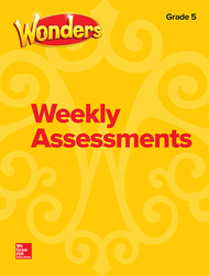 Wonders Weekly Assessments, Grade 5