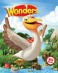 Wonders Reading/Writing Workshop Big Book, Grade K, Volume 10