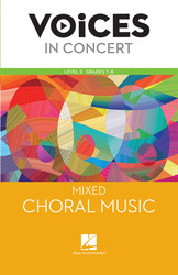 Hal Leonard Voices in Concert, Level 2 Mixed Choral Music Book