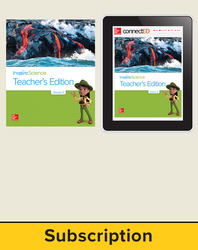 Inspire Science 2.0 Grade 3, Basic Teacher Bundle with Print Teacher's Edition and Online Teacher Center, 1 Year Subscription