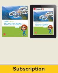 Inspire Science 2.0 Grade 1, Basic Teacher Bundle with Print Teacher's Edition and Online Teacher Center, 6 Year Subscription
