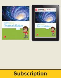 Inspire Science 2.0 Grade 2, Basic Teacher Bundle with Print Teacher's Edition and Online Teacher Center, 6 Year Subscription