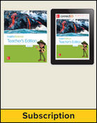 Inspire Science 2.0 Grade 3 Basic Teacher Bundle with Print Teacher's Edition and Online Teacher Center, 7 Year Subscription