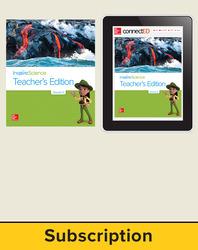 Inspire Science 2.0 Grade 3 Basic Teacher Bundle with Print Teacher's Edition and Online Teacher Center, 6 Year Subscription