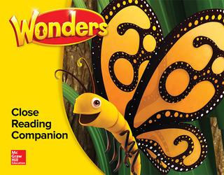 Wonders Close Reading Companion Annotated TE, Kindergarten