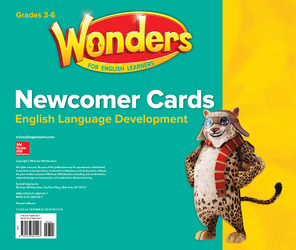 Wonders for English Learners Newcomer Cards Grades 3-6