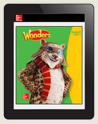 Wonders Teacher Online Workspace 6-Year Online Subscription, Grade 4
