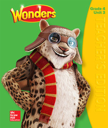Wonders Teacher's Edition, Volume 3, Grade 4