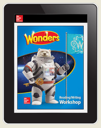 Wonders Student Online Workspace 6-Year Online Subscription, Grade 6