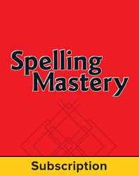 Spelling Mastery Level B Student Online Subscription, 1 year