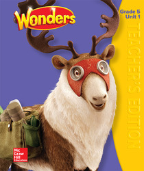 Wonders Teacher's Edition, Volume 1, Grade 5