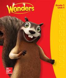 Wonders Teacher's Edition, Volume 1, Grade 1