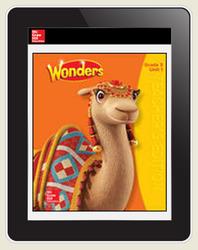 Wonders Teacher Online Workspace 6-Year Online Subscription, Grade 3