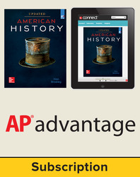 Brinkley, American History: Connecting with the Past UPDATED AP Edition © 2017, 15e, Student AP Advantage Bundle (Student Edition with ONboard (v2), Connect, SCOREboard (v2)), 1-year subscription