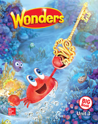 Wonders Reading/Writing Workshop Big Book, Grade K, Volume 3