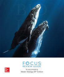 Mader, Biology © 2019, 13e (AP Edition), AP Focus Review Guide
