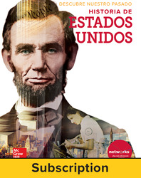 Discovering Our Past: A History of the United States, Spanish Student Suite Bundle, 6-year subscription