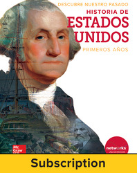 Discovering Our Past: A History of the United States-Early Years, Spanish Student Suite Bundle, 6-year subscription