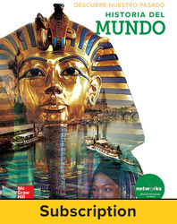 Discovering Our Past: A History of the World, Spanish Student Suite Bundle, 6-year subscription