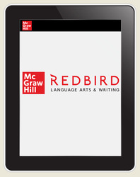 Redbird Language Arts & Writing, Grades 2-7, Student Subscription, 1 year license