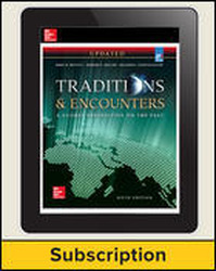 Bentley, Traditions & Encounters: A Global Perspective on the Past UPDATED AP Edition, 2017, 6e, AP advantage Digital Teacher Subscription, 6-year subscription