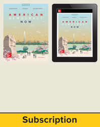 Harrison, American Democracy Now © 2017, 5e (AP Edition) AP Advantage Print and Digital bundle (Student Edition, ONboard, Online Student Edition, SCOREboard) 6-year subscription