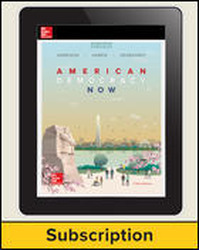 Harrison, American Democracy Now © 2017, 5e (AP Edition) AP Advantage Digital Bundle (ONboard (v2), Online Student Edition, SCOREboard (v2) 1-year subscription