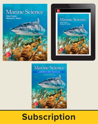 Castro, Marine Science © 2016, 1e, Premium Print Bundle (Student Edition with Lab Manual, Online Student Edition) 1-year subscription