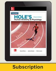 Shier, Hole's Human Anatomy & Physiology © 2019, 15e, Online Teacher Edition, 6-year subscription