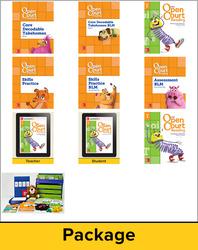 Open Court Reading Grade 1 Foundational Skills Kit Classroom Bundle, 1 Year Subscription