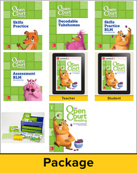 Open Court Reading Grade 2 Foundational Skills Kit Classroom Bundle, 1 Year Subscription