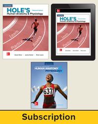 Shier, Hole's Human Anatomy & Physiology © 2019, 15e, Premium Print Bundle, 6-year subscription
