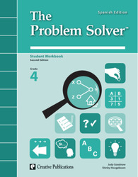 The Problem Solver, Grade 4: Workbook Spanish