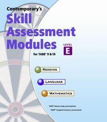 Skill Assessment Modules for TABE 9 & 10, Level E Site/LAN License