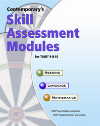 Skill Assessment Modules for TABE 9 & 10, Complete Set: Site License