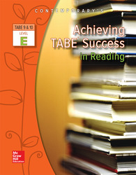 Achieving TABE Success In Reading, Level E Workbook