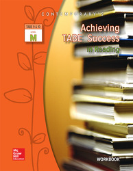 Achieving TABE Success In Reading, Level M Workbook