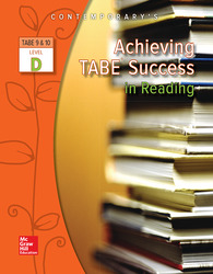 Achieving TABE Success In Reading, Level D Workbook
