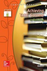 Achieving TABE Success In Reading, Level E Reader