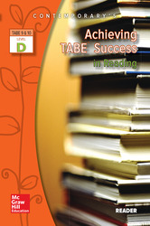 Achieving TABE Success In Reading, Level D Reader
