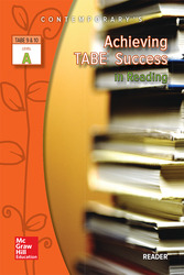 Achieving TABE Success In Reading, Level A Reader