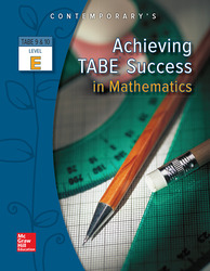 Achieving TABE Success In Mathematics, Level E Workbook
