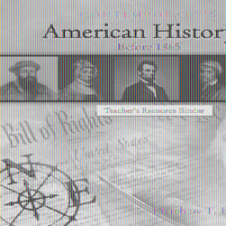 American History 1 (Before 1865), Blackline Masters Only