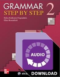 Grammar Step by Step Level 2 Audio Download