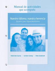 Manual de actividades t/a Nuestro idioma, nuestra herencia