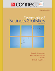 Connect Online Access for Essentials of Business Statistics